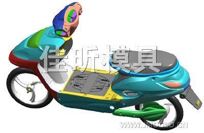 摩托车模具